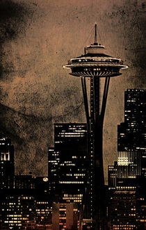 Space Needle  by Jim Corwin