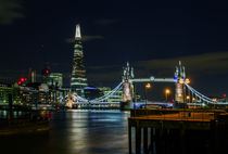 The Shard & Tower Bridge by Wayne Molyneux