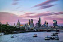 Skyline London von Bruno Schmidiger