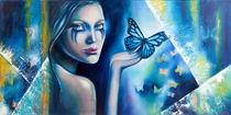 """Schmetterlingsblau"" von burmester-art"