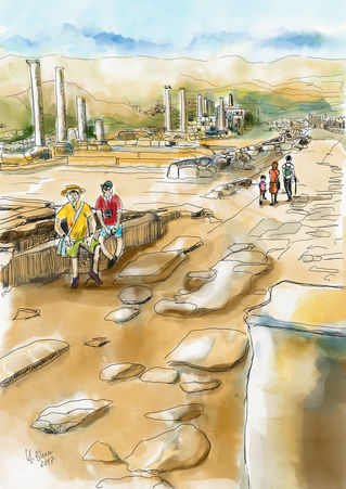 Die-antike-stadt-perge-turkei