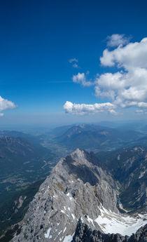 Von der Zugspitze by Stephan Gehrlein