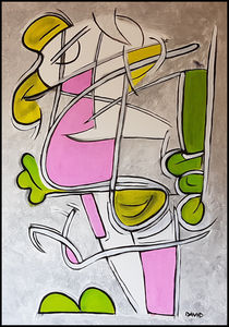 Pink Dress by David Joisten