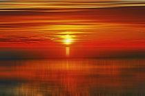 Irish Sea Sunset von John Wain