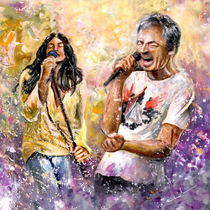 Ian Gillan Now And Then by Miki de Goodaboom