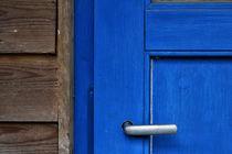 Blaue Tür von Petra Dreiling-Schewe