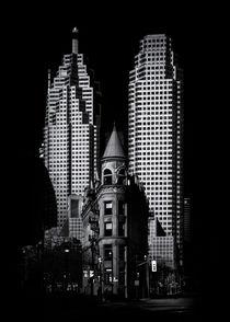 Gooderham Flatiron Building And Toronto Downtown No 2 von Brian Carson
