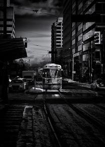 The 512 St. Clair Streetcar Toronto Canada by Brian Carson