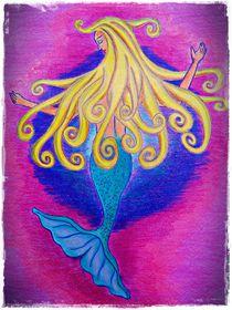 Dreamy Mermaid by littleseaart