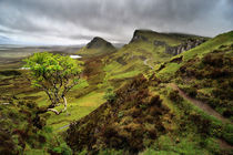 Rain blowing through the Quiraing von chris-drabble