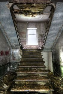 Stairs to Nowhere by Eva Ueberhofen