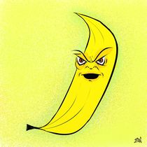 Angry Banana by Vincent J. Newman