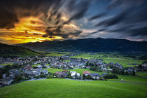Kaprun sunset von photoart-hartmann