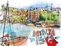 Antalya, Im Hafen von Hartmut Buse