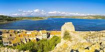 """Panorama vom """"Etang de Gruissan"""" gesehen vom Tour Barberousse von Thomas Klee"""