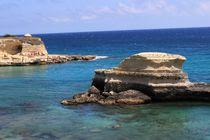 Fels im Meer von karneol