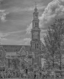 Amsterdam Westerkerk von Peter Bartelings