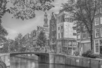 Amsterdam Westertower  von Peter Bartelings