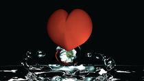 Herzblume von Stefanie Keller