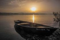 Fischerboot auf der Insel Reichenau by Christine Horn