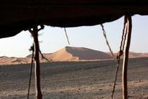 Beduinenzelt der Sahara by Martina  Gsöls