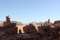 Steinmänner der Wüste von Martina  Gsöls