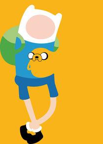 Adventure Time - Minimalist Quote Poster von mequem design