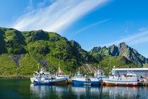 Ballstad auf den Lofoten in Norwegen von Rico Ködder
