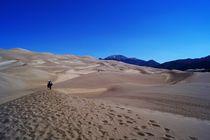 Dünenlandschaft in Colorado von Frank  Kimpfel