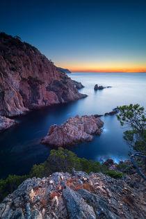 The cliffs of Tamariu by Maximilian Müller