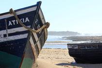 Boot am Strand von Martina  Gsöls