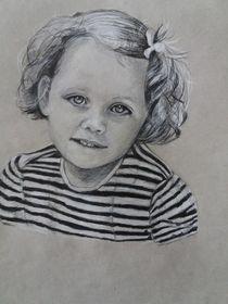 portrait of a girl von Marion Reinke