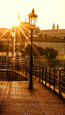 Sunset in Prague by Tomas Gregor
