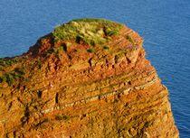 Roter Felsen auf Helgoland von kattobello