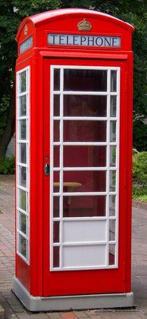 Englische Telefonzelle  by kattobello