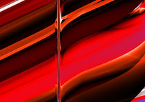 red abstract pattern by donphil