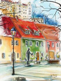 Pirna, Am Plan by Hartmut Buse