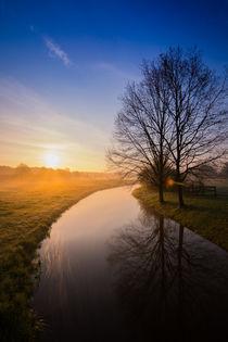Frostiger Sonnenaufgang by Daniel Nicklich