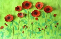 Poppy field by nellyart