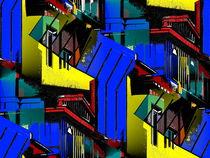 Postmoderne Architektur - Wilhelmshaven by Detlev Kluin