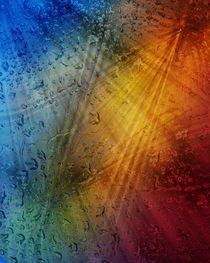 Magia venientem in guttis aquae pluviae von Michael Naegele