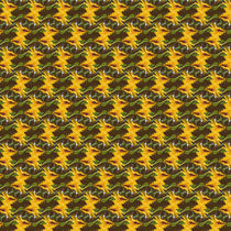 Sonnenblumenmuster - abstrakt by Chris Berger