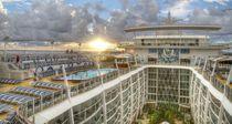 Oasis Sunrise - Oasis of the Seas, Caribbean by John Lechner