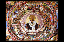 fresque monastère de Rila Bulgarie original von Boris Selke