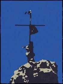 Gipfelkreuz von Anne-Marie Hecker