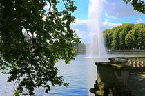 Die Fontaine im Schlossgraben by Bernhard Kaiser