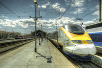 Marseilles Eurostar  von Rob Hawkins