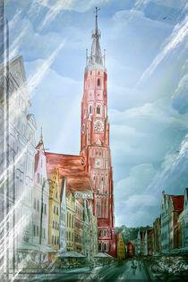 Altstadt Landshut Zyklus I by Ingo Mai