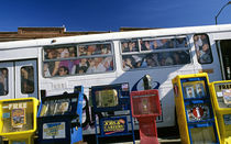 Crowded Bus by Jim Corwin