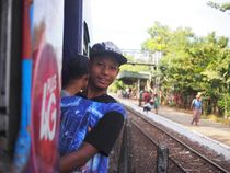 The Yangon Circle Line von Michael Sheridan